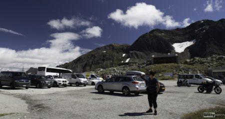 parkoviště | Nufenenpass 2478 m
