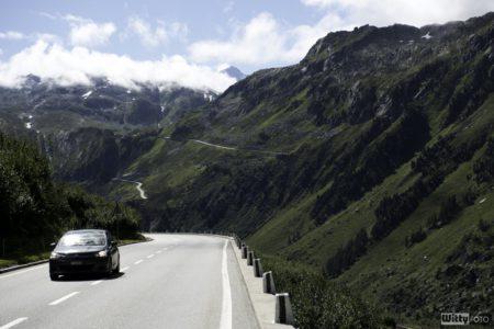 Citroën se sem vyšplhal taky | Furkapass 2463m