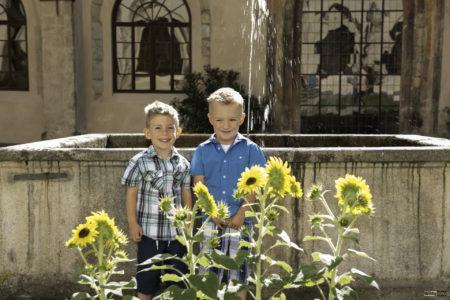 kašna v Rajské zahradě | Zlatá Koruna