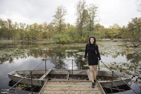 rybník, zámecká zahrada, Český Krumlov