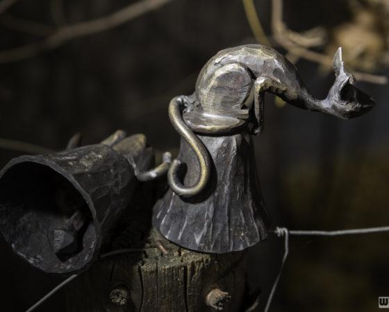 výrobky kováře z Českého Krumlova