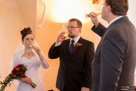 svatební přípitek | Zlatá Koruna