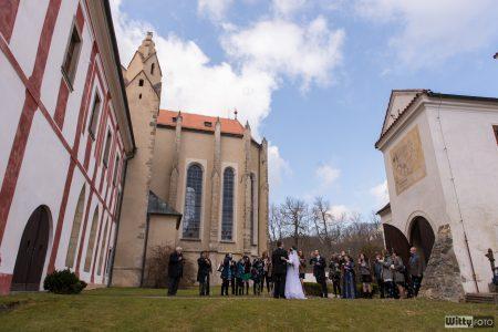 svatba, klášter | Zlatá Koruna