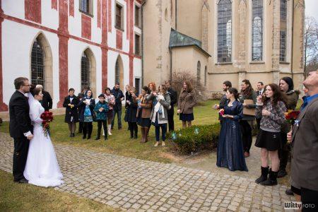 hosté u kláštera | Zlatá Koruna