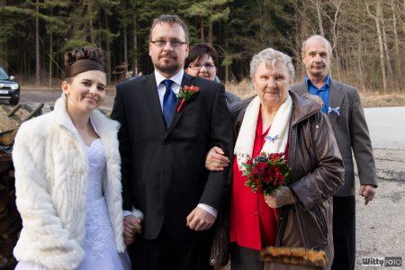 manželé a babička s rodiči | Zlatá Koruna