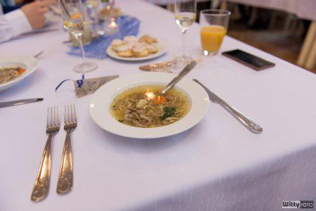 svatební polévka s játrovými knedlíčky | Zlatá Koruna