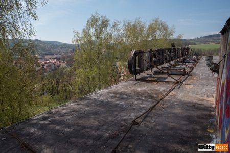 cedule na střeše hotelu Vyšehrad | Český Krumlov