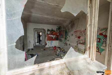 pomalovaný pokoj v hotelu Vyšehrad | Český Krumlov