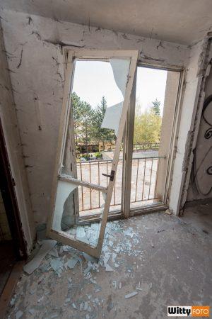 vysazené dveře, hotel Vyšehrad | Český Krumlov