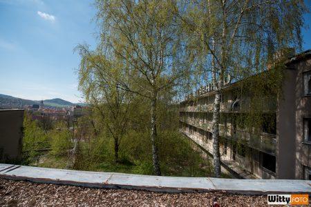 na střeše, hotel Vyšehrad | Český Krumlov