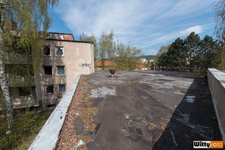 střecha, hotel Vyšehrad | Český Krumlov
