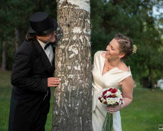 manželé u břízy | Štilec