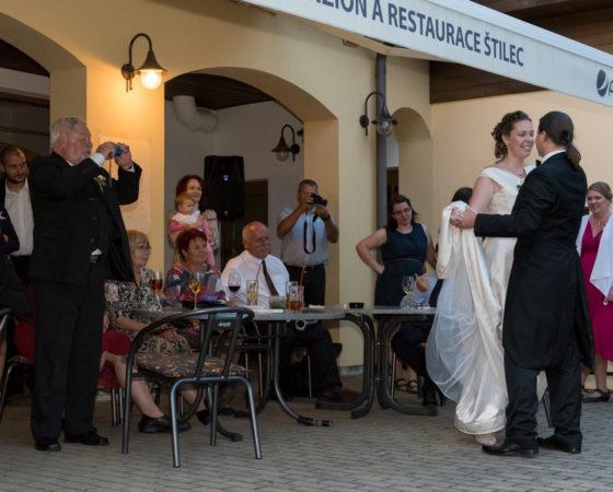 první novomanželský tanec | Štilec