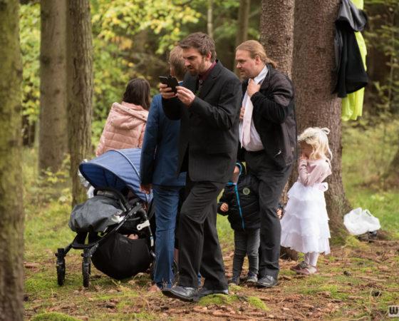 příchod hostů do lesa | Horní Planá