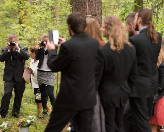 hosté čekají na zahájení obřadu | Horní Planá