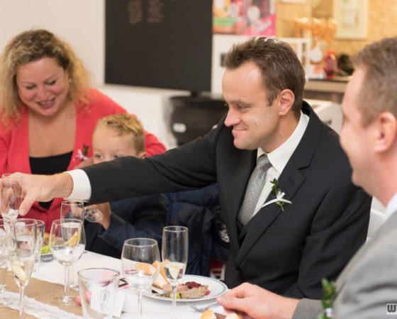 svatební hostina | Horní Planá