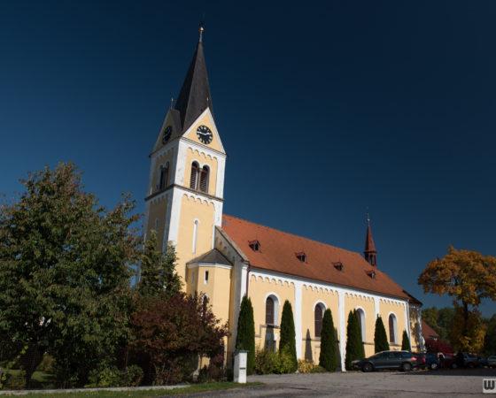 kostel Neposkvrněného početí Panny Marie | Černá v Pošumaví