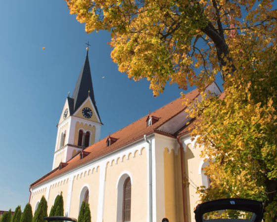 Farní kostel Neposkvrněného Početí Panny Marie | Černá v Pošumaví