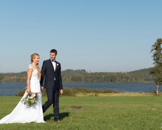 portrétové focení novomanželů | Olšina