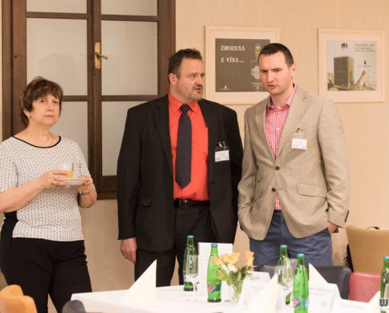 Zdeňka Draxlerová, Pavel Burian, Viktor Zeisel (Komerční banka) | Svachovka
